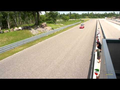 Silver Ferrari 575 Maranello Track Flybys - 2011 FCA Calabogie