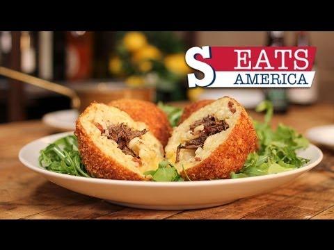 MAC 'N' CHEESE BALLS - SORTED EATS