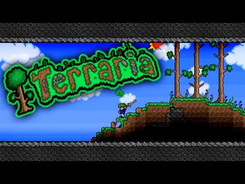 TotalBiscuit and Jesse Cox Play Terraria - Part 6 - Jesse is bad at Power Ups