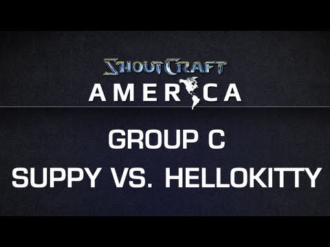 ShoutCraft America - Group C - EGSuppy vs. Hellokitty BO3