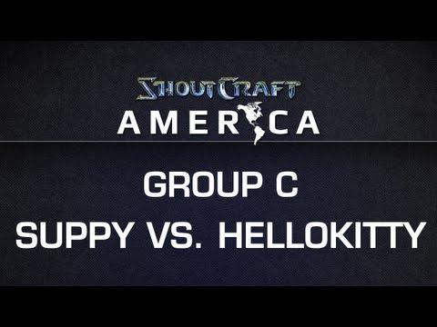 ShoutCraft America - Group C - EGSuppy vs. Hellokitty BO3