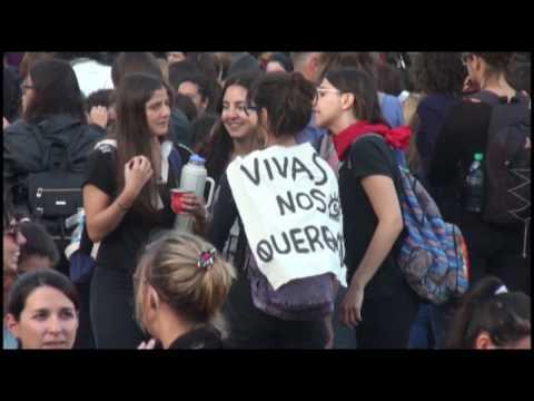 <b>Paraná.</b> protesta contra los femicidios