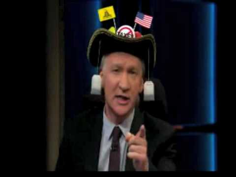 Bill Maher BECOMES a Teabagger - 4/23/10
