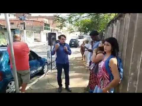 Ato na UBS Jardim São Pedro contra a terceirização da unidade