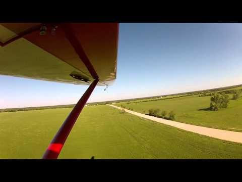 Landing at Wichita Glider Port