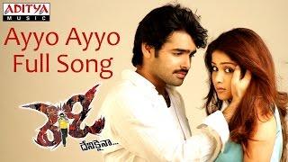 Ayyo Ayyo Full Song || Ready