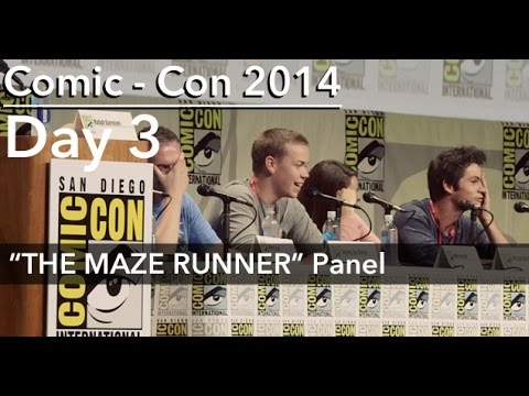 THE MAZE RUNNER Q & A Panel, Comic - Con 2014; feat: DYLAN O'BRIEN, WILL POULTER