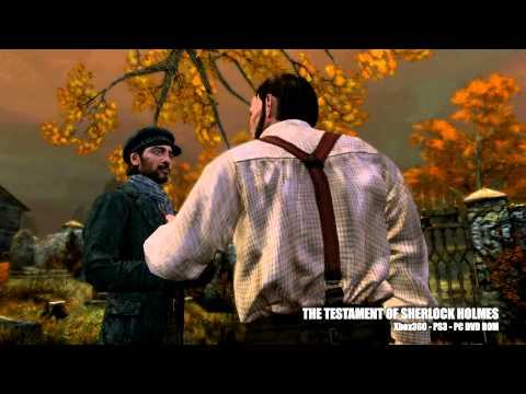 The Testament Of Sherlock Holmes E3 2011 Trailer - Testament Of Sherlock Holmes Game Trailer