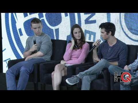 A Conversation with the cast, author, & director of THE MAZE RUNNER