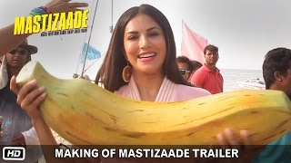 Making of Mastizaade Trailer