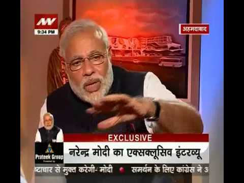 News Nation Exclusive: 60 minutes with Narendra Modi- part 3
