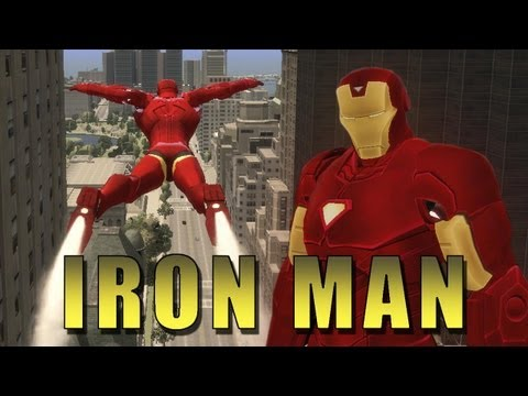 El mejor juego de Iron Man, un mod de GTA 4
