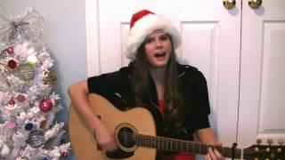 "Me singing ""Santa Baby"""