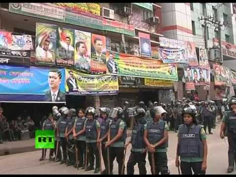 Bangladesh Violence: Police disperse strike with tear gas