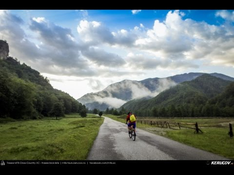 VIDEOCLIP Traseu MTB Gara Lotru - Perisani - Salatrucu - Suici - Robaia - Berislavesti - Calimanesti