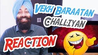 Vekh Baraatan Challiyaan | Official Trailer - Reaction #58