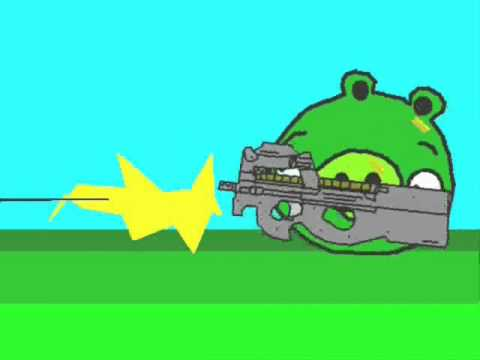 Angry Birds animated parody