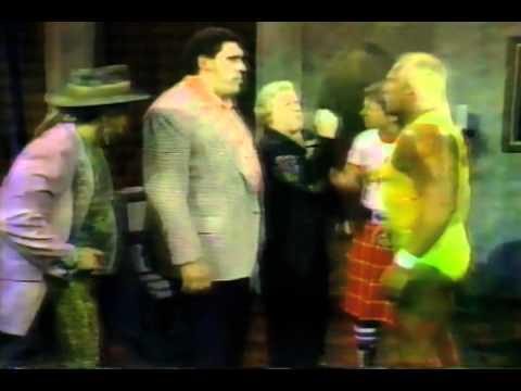 WWF WRESTLING CHALLENGE 2/8/1987 RICKY STEAMBOAT DEMOLITION PIPER HULK HOGAN ANDRE ADRIAN ADONIS