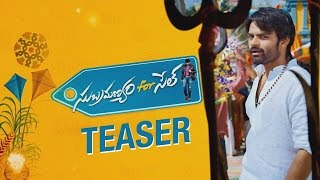 Subramanyam for sale First look teaser