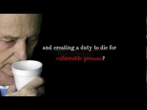 TV Spot - Stop assisted suicide & euthanasia