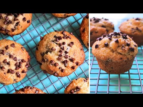 Bakery Style Chocolate Chip Muffins | Episode 153