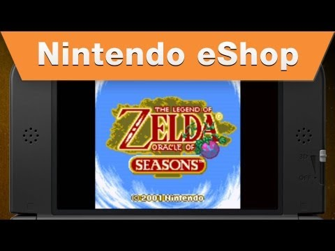 The Legend of Zelda: Oracle of Seasons (también) llega a Nintendo 3DS eShop