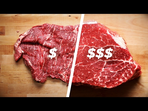 How To Cook A Cheap Steak Vs. An Expensive Steak