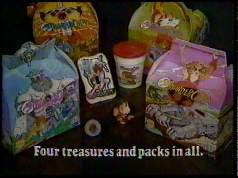 Thundercats Burger King Kid's Meal Pack commercial CM 1985