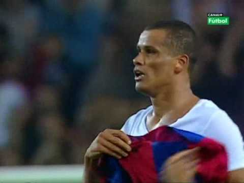 GOLAZO CHILENA RIVALDO BARCELONA VALENCIA HD (ALTA CALIDAD Y SONIDO) BICYCLE KICK