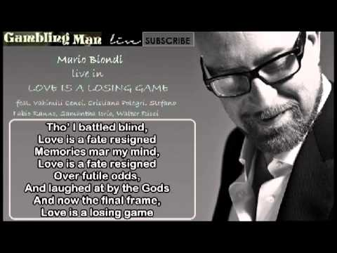 "Mario Biondi ""Love is a Losing Game"" Live  tribute to Amy Winehouse/Official/With Lyrics"