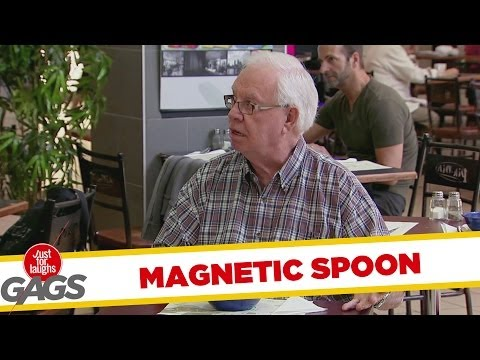 Magnetic Spoon Prank