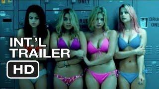 Spring Breakers Official International Trailer (2013) - James Franco Movie HD