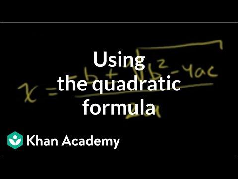 Quadratic Formula 1