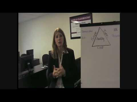 Project Management Overview Triple Constraint PMBOK PMI TrainingToYOU Phoenix Arizona