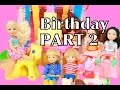 Frozen Barbie Chelsea BIRTHDAY PARTY Barbie Clubhouse Part 2 Toby Peppa Pig Shopkins AllToyCollector