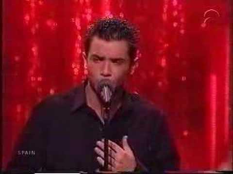 Eurovision 2001 Spain David Civera-Dile que la quiero