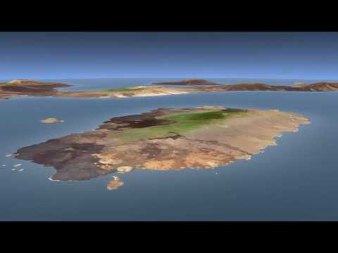 Galapagos Islands Flyby [720p]