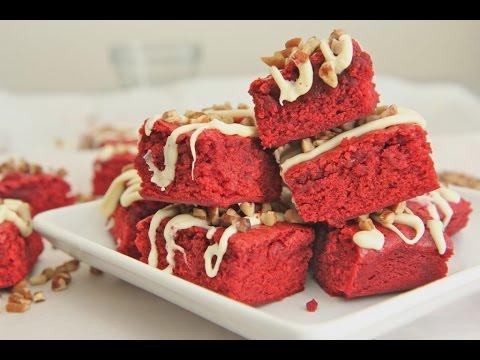 Chewy Red Velvet Brownies Recipe