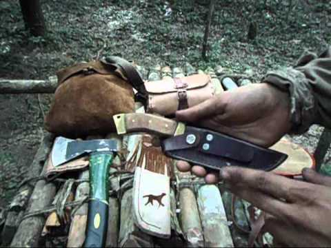 Primitive Bushcraft - Self Made Gear