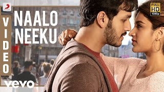Mr. Majnu - Naalo Neeku Telugu Video