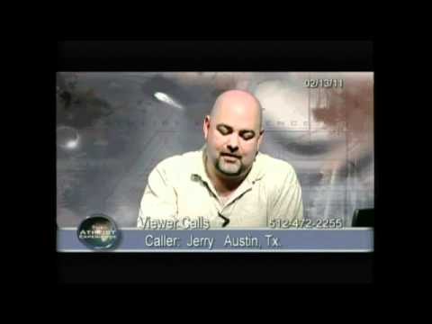 Matt Dillahunty, with a very beautiful response. [ Atheist Experience show #696] part 1/2