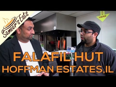 Falafil Hut - Hoffman Estates, IL - Sameer's Eats [Halal Food / Restaurant Review]