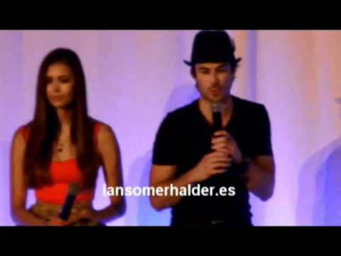 05/05/2012 'Bloody Night Con 2' (Bcn) Panel Ian & Nina (Parte 1)