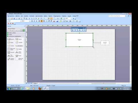 Como usar Visio de Microsoft Office para crear Graficas, Diagramas u Organigramas