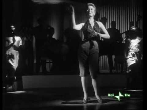 Silvana Mangano (el negro zumbon) from ANNA movie of 1951