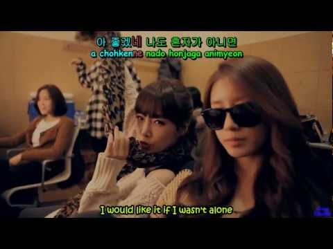 [HD MV] T-ara - Lovey-Dovey in Tokyo English Hangul Romanization (Karaoke)