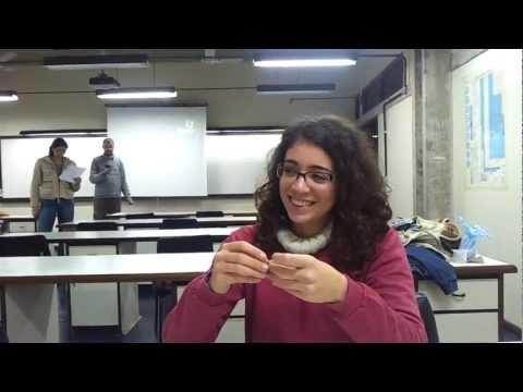 Larissa e Ebráilon: educação para futuros geólogos.