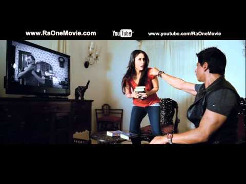 Official Ra.One movie - Kareena Kapoor's cool lingo trailer