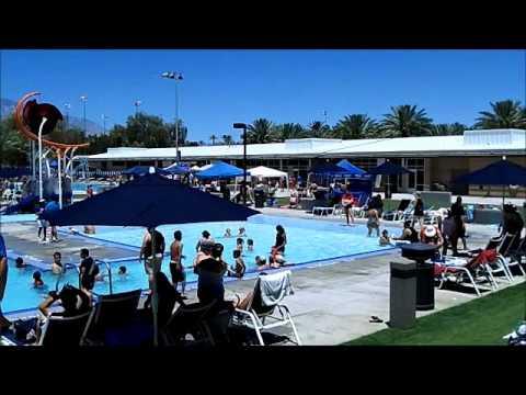 Palm Desert New Aquatic Center Grand Opening
