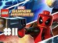 LEGO Marvel Superheroes - LEGO BRICK ADVENTURES - Part 11 - Actionz! (HD Gameplay Walkthrough)